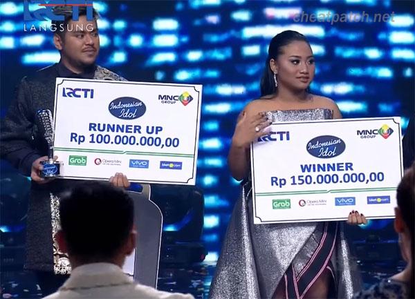 maria Pemenang Juara 1 Indonesian idol 2018