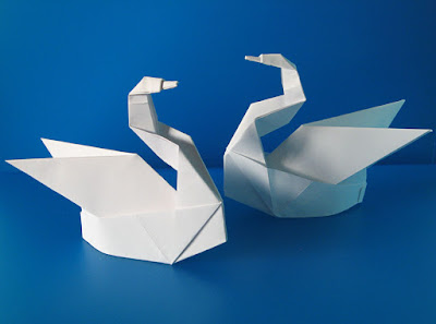 Origami, Cigni Esse - Svans Esse by Francesco Guarnieri