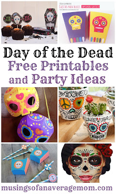 free day of the dead printables