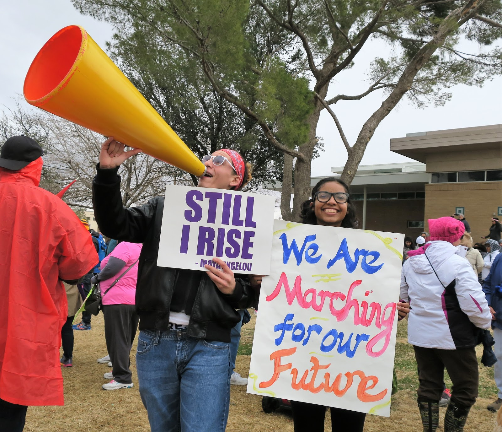Living Rootless: El Paso: Womens March