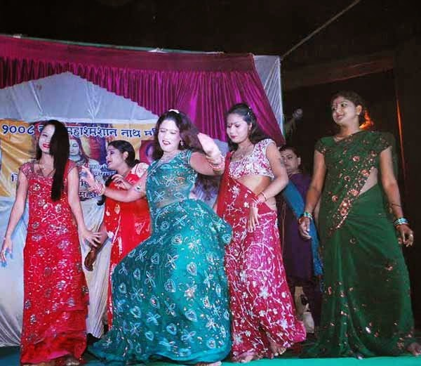 sex workers ritual dance at manikarnika ghat