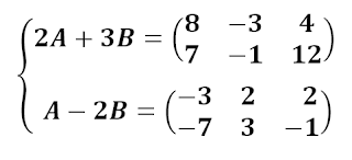 Sistemas de ecuaciones con matrices