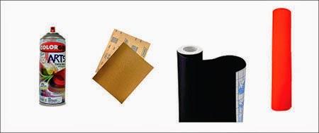 reciclagem, móvel colorido, contact