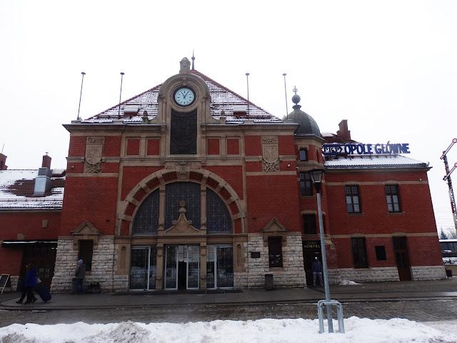 Stacja kolejowa w Opolu