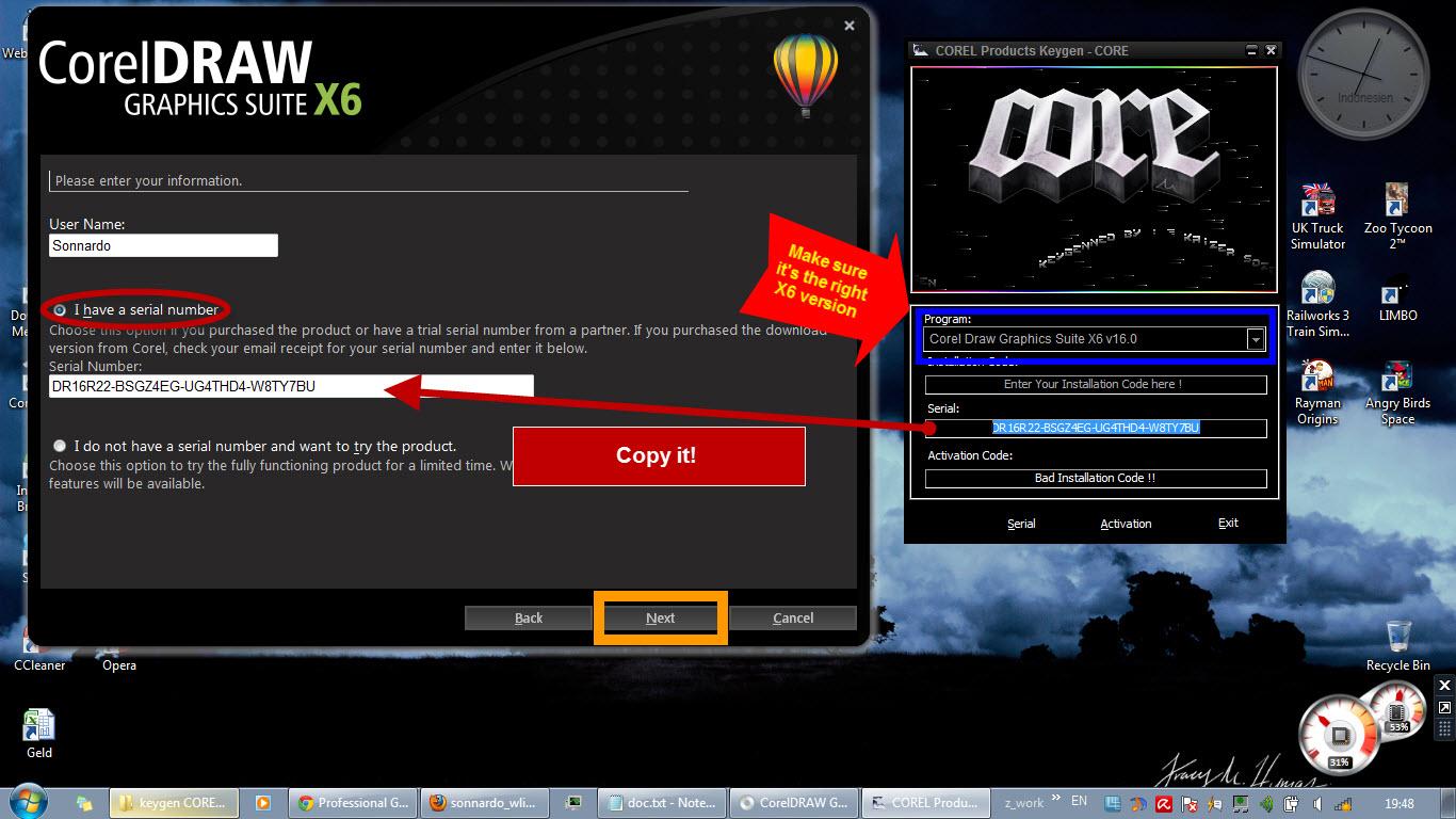 Activation corel Draw Apple download code serial keygen