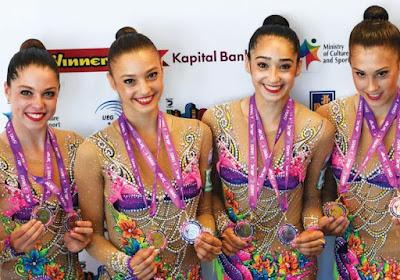 Israel wins gold and silver at European Rhythmic Gymnastics Championships in Holon