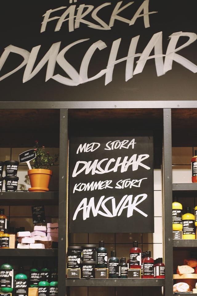 Lush Stockholm Sweden