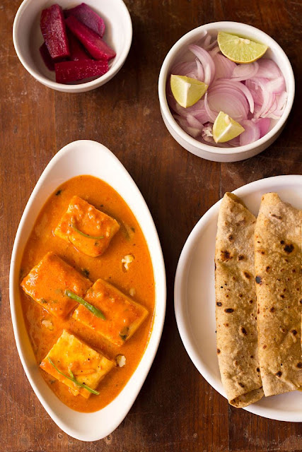 10 Spicy And Colourful Paneer Gravy Recipes