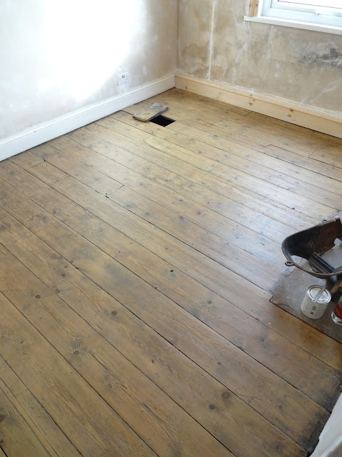 restoring floorboards and keeping character