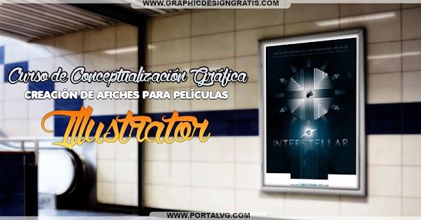 Curso Illustrator: Conceptualización Gráfica | Creación de Afiches de pelicula | Gratis