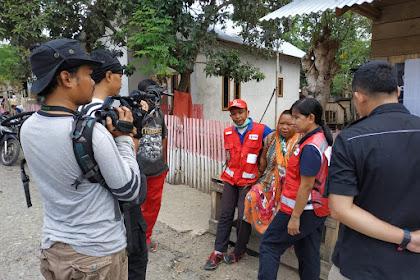Dikabarkan Hilang, Tangis Haru Relawan PMI Palu Saat Temukan Keluarganya