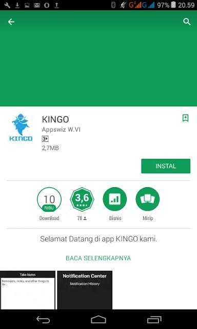 Aplikasi Root Android dengan Kingoroot