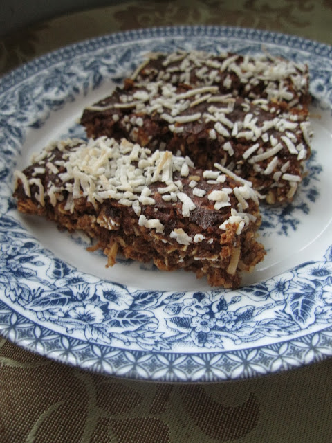 Oat and Coconut Protein Bars