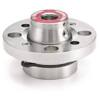 Flanged diaphragm seal