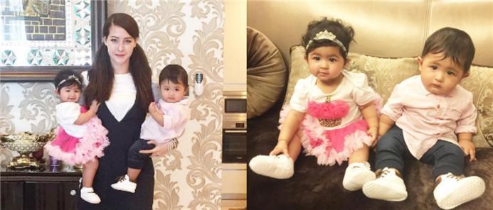 Anak kembar comel Eina Azman (10 gambar)