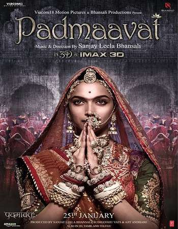 Padmaavat 2018 Hindi 200MB Pre-DVDRip HEVC Mobile