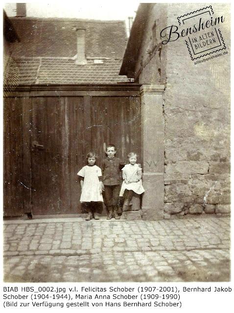 BIAB HBS_0002.jpg v.l. Felicitas Schober (1907-2001), Bernhard Jakob Schober (1904-1944), Maria Anna Schober (1909-1990), Bilder zur Verfügung gestellt durch Hans Bernhard Schober