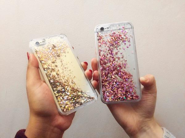 hot sale online 70062 6e535 EBAY FINDS #21 LIQUID GLITTER IPHONE AND SAMSUNG CASE - Skin Face ...