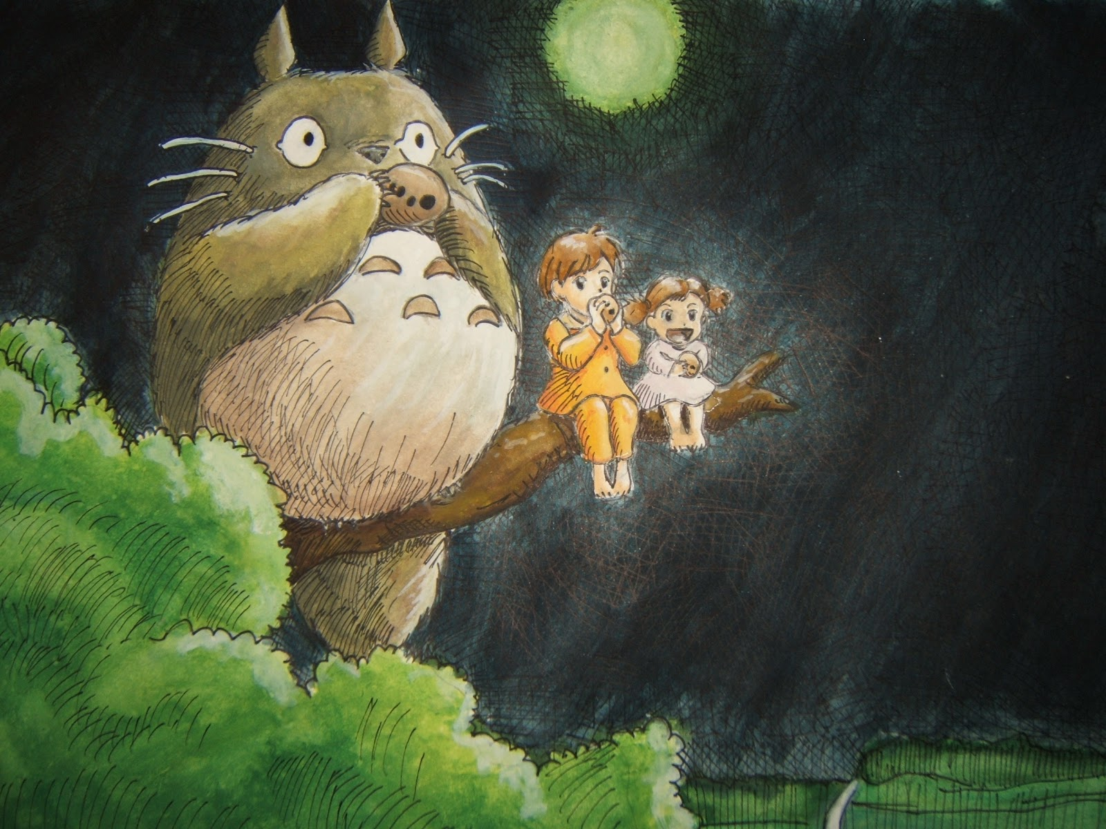 My Neighbor Totoro Roar: Totoro: Totoro Biography
