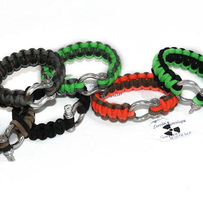 This Handmade Life Zombie Apocalypse Survival Bracelets