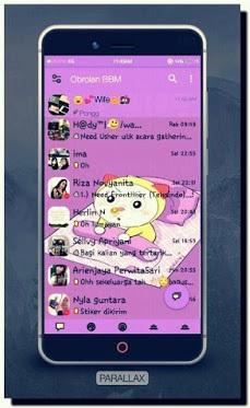 BBM Mod Paralax Dorami Based V3.0.1.25 Apk