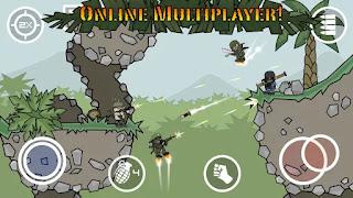 Doodle Army 2 : Mini Militia v2.2.9 Apk (Mod Unlocked)