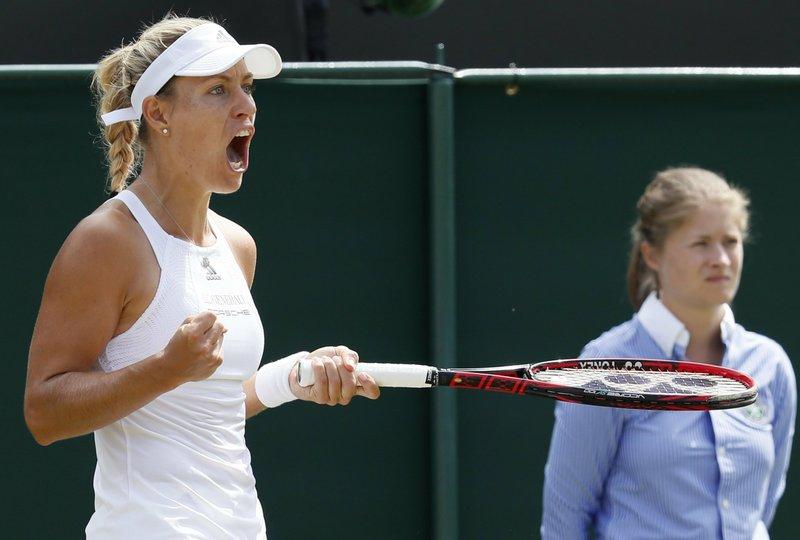 World No.1 Angelique Kerber  Set to  play 2016 French Open Champion  Garbine Muguzura at Wimbledon