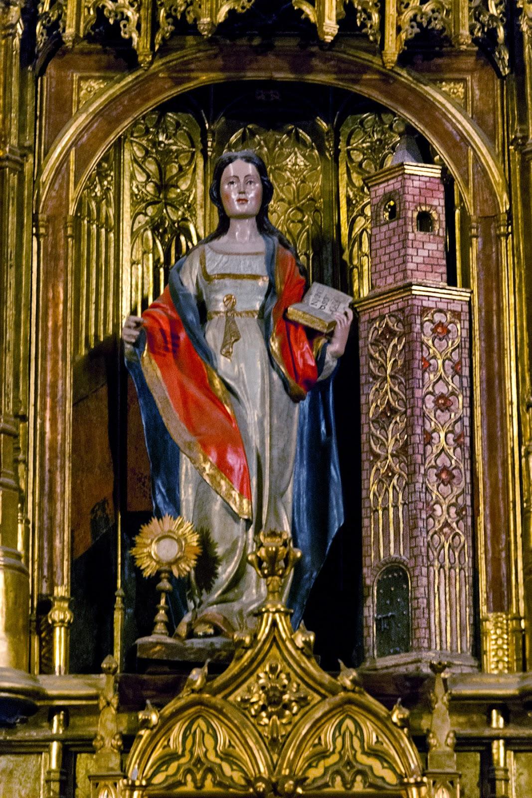 Santa Bárbara de la catedral de Málaga