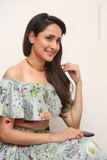 Actress Pragya Jaiswal Stills in Floral Dress at turodu Interview  0140.JPG