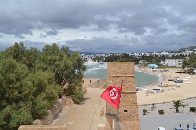 Hammamet, lindas praias da Tunísia, perto da capital Tunes