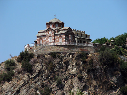 About the Skete of St. Anna on Mount Athos