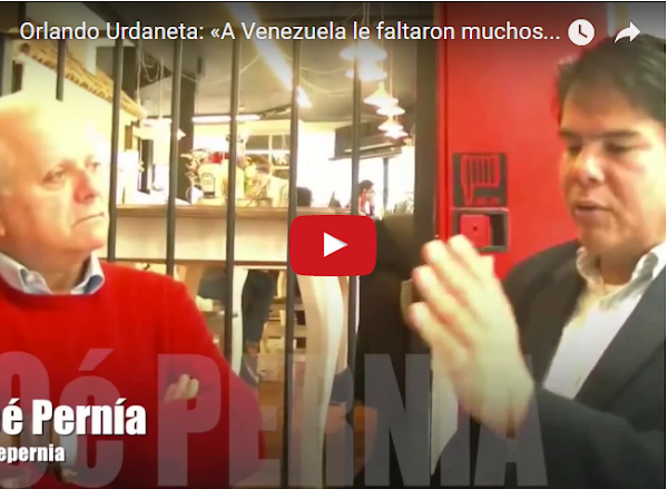 Orlando Urdaneta entrevistado por Noé Pernía