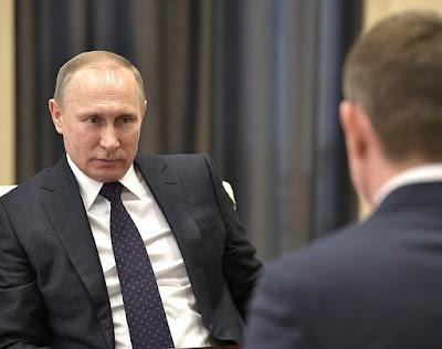 Vladimir Putin, Maxim Reshetnikov.