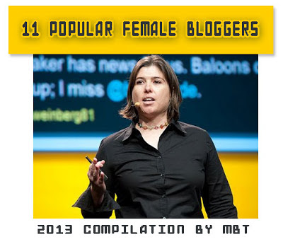 Popular Female bloggers