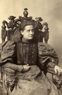 Young Jane Addams