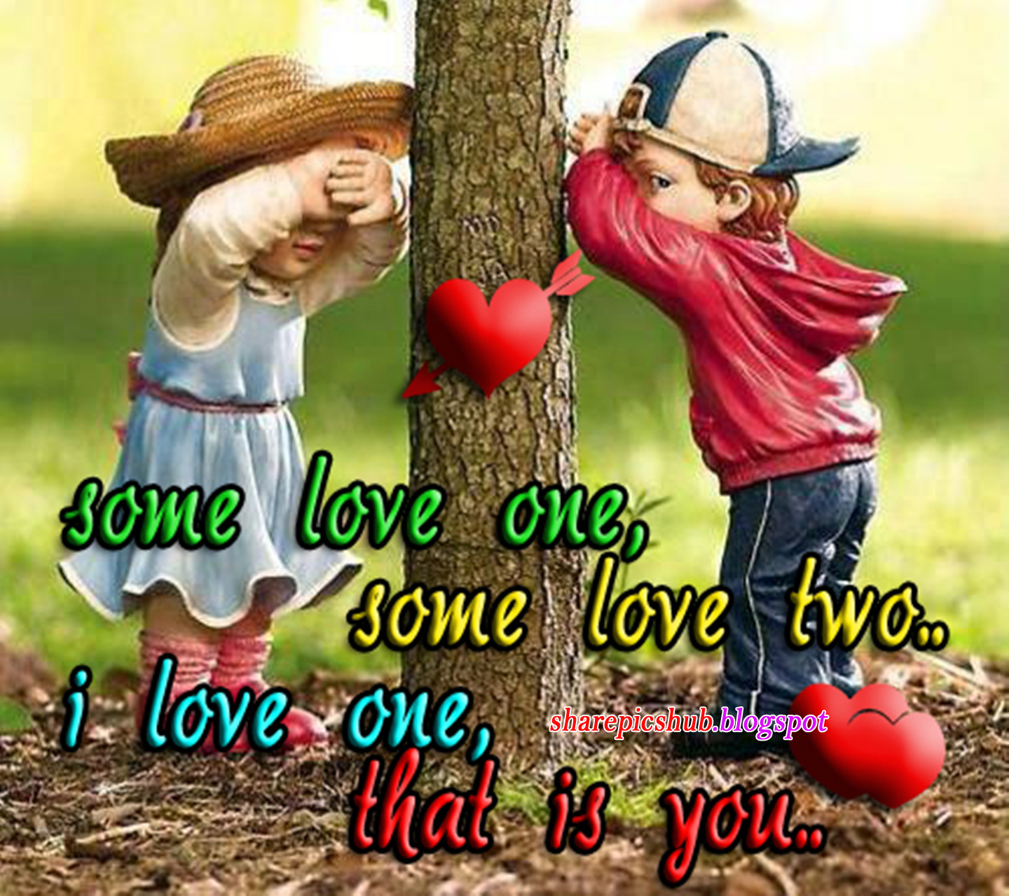 I Love Just You Romantic Quote HD Wallpaper For Android ...