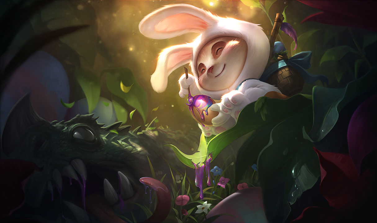 Thank You For The New Cottontail Teemo Splash Art