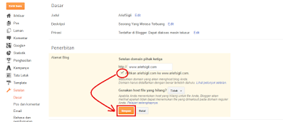 Cara Setting Domain Freenom ke Blogspot