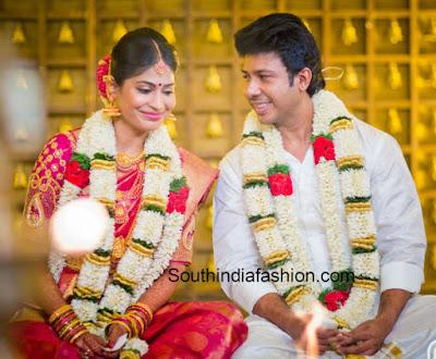 feroz-Vijayalakshmi-wedding-look2