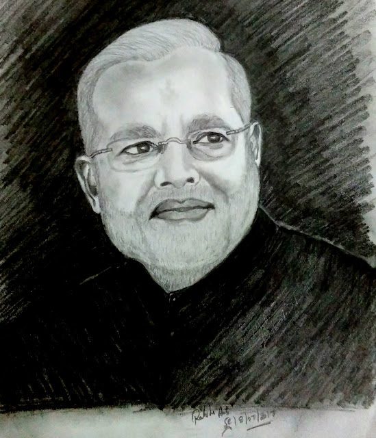 Honourable Mr Narendra Modi is 14th prime minister of India