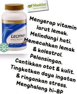 Lecithin; Shaklee Tuaran; Shaklee Mengatal; Shakle Beaufort; Shaklee Papar; Pecah lemak; vitamin otak; Shaklee Kuching; Shaklee Lawas