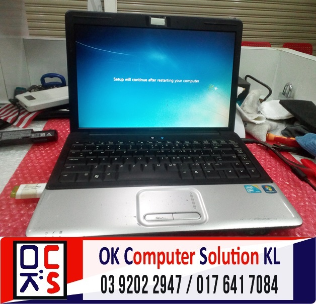 [SOLVED] HP COMPAQ CANNOT REACH WINDOWS | REPAIR LAPTOP CHERAS 3