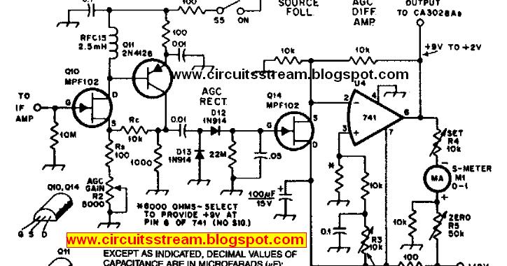 Forum Diagram: Build a Agc System For Ca3028 Rf Amplifier