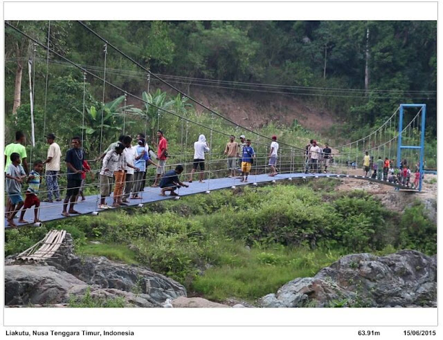 Toni Ruttimann, Bule yang Bangun 61 Jembatan di Pelosok- Pelosok Indonesia. Salut
