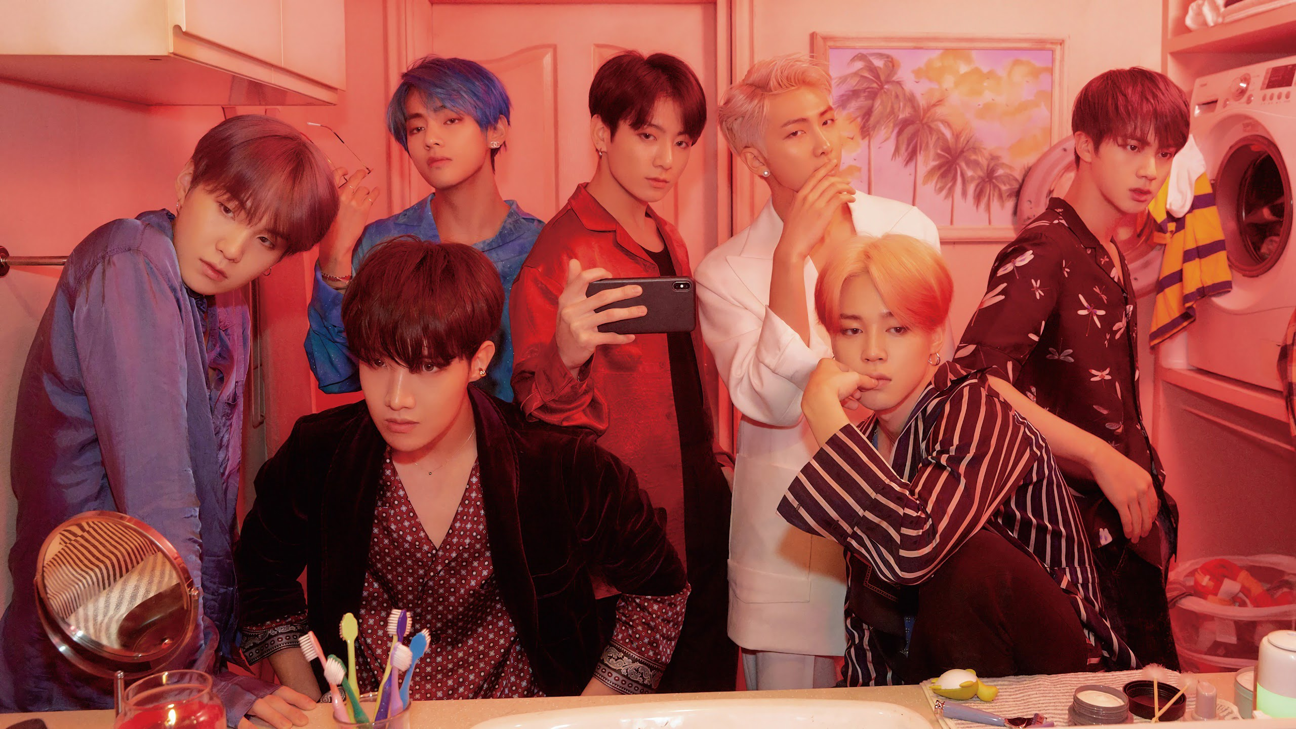 bts map of the soul persona members uhdpaper.com 4K 27