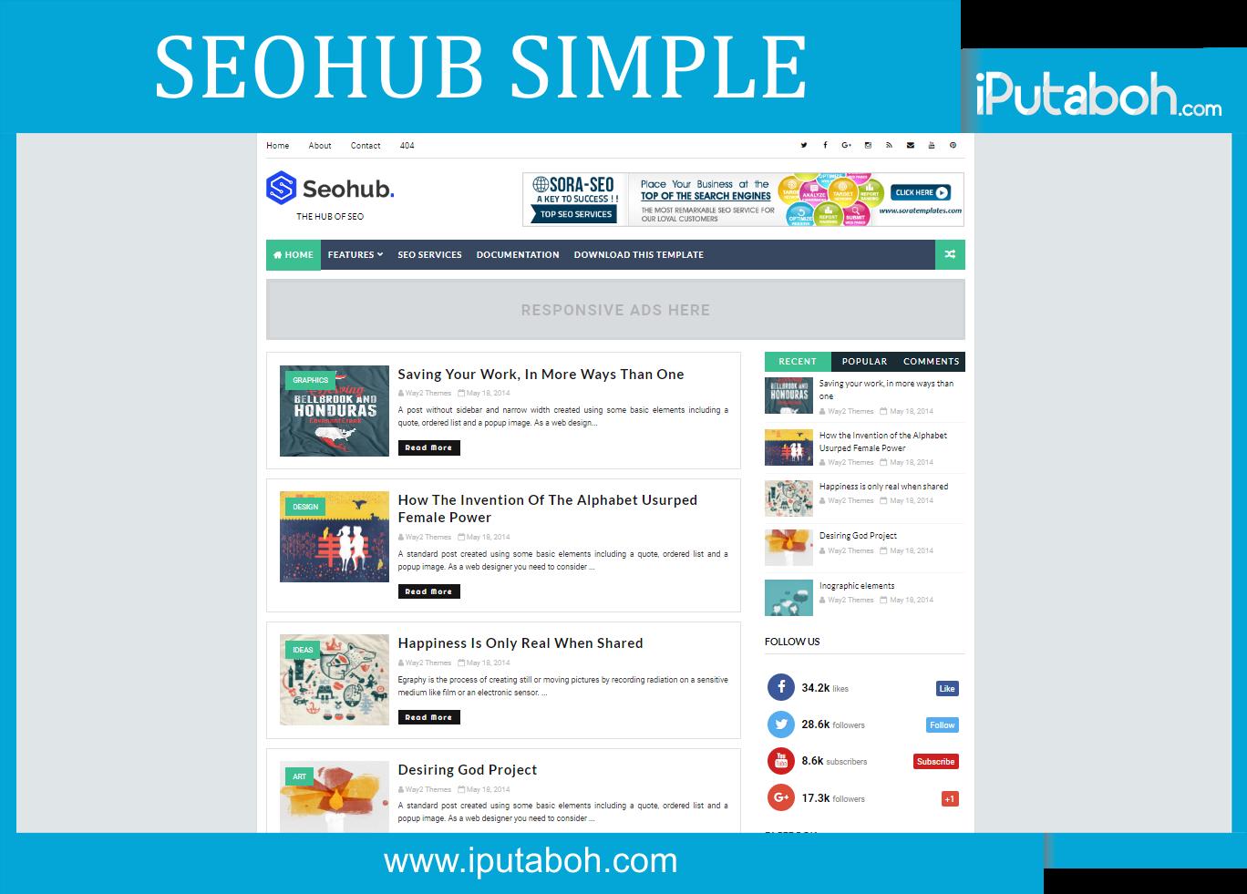 Seohub simple blogger templates iputaboh blogger templates seohub simple blogger templates pronofoot35fo Images