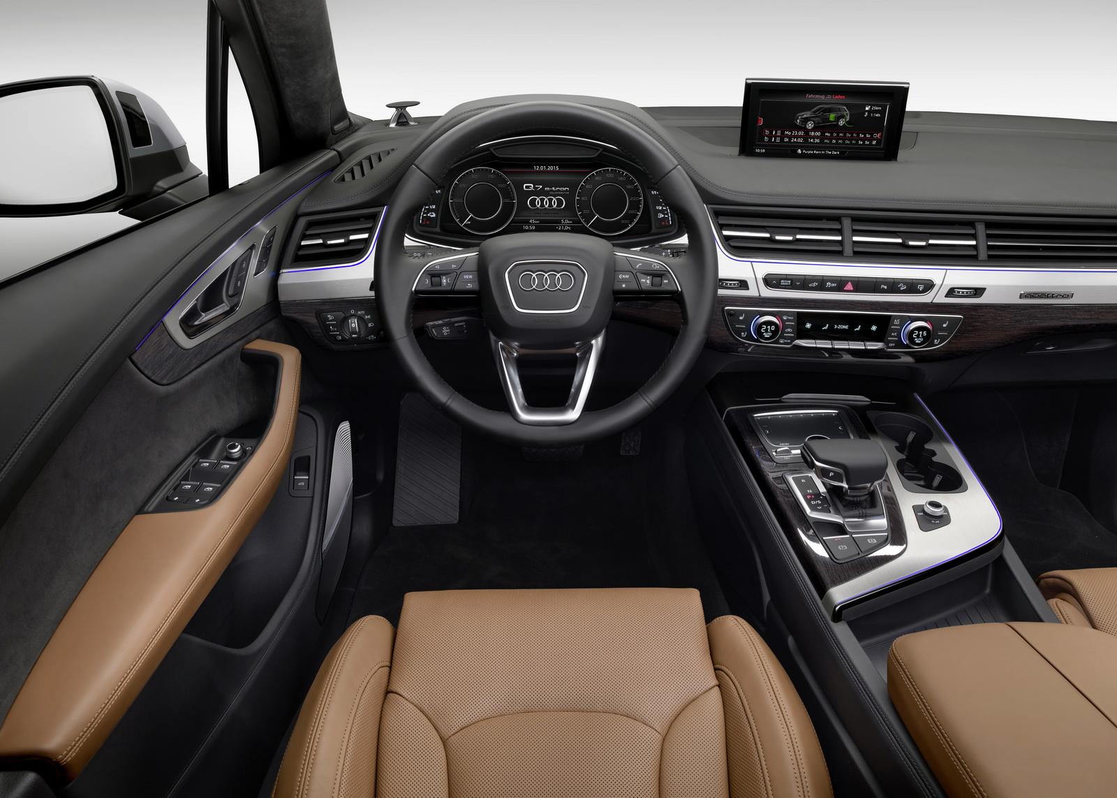 Audi ra mắt Q7 E-Tron 3.0TDI