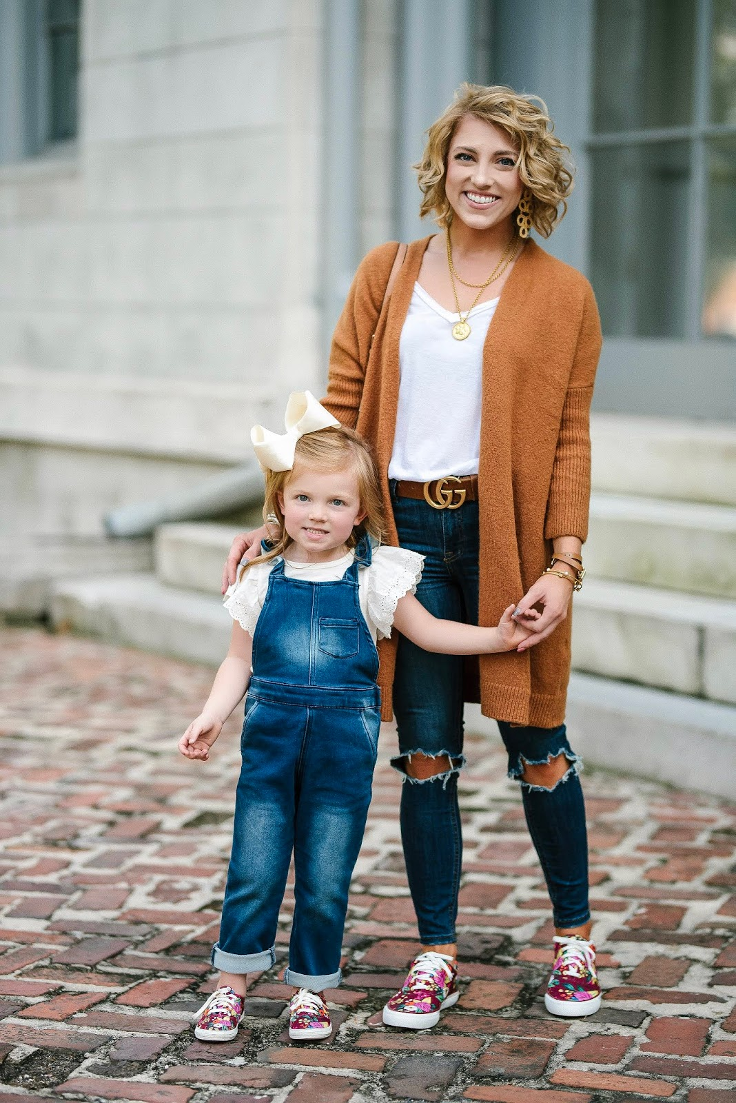 Mommy & Me Style: Twinning in Keds x Rifle Paper Co. Sneakers - Something Delightful Blog