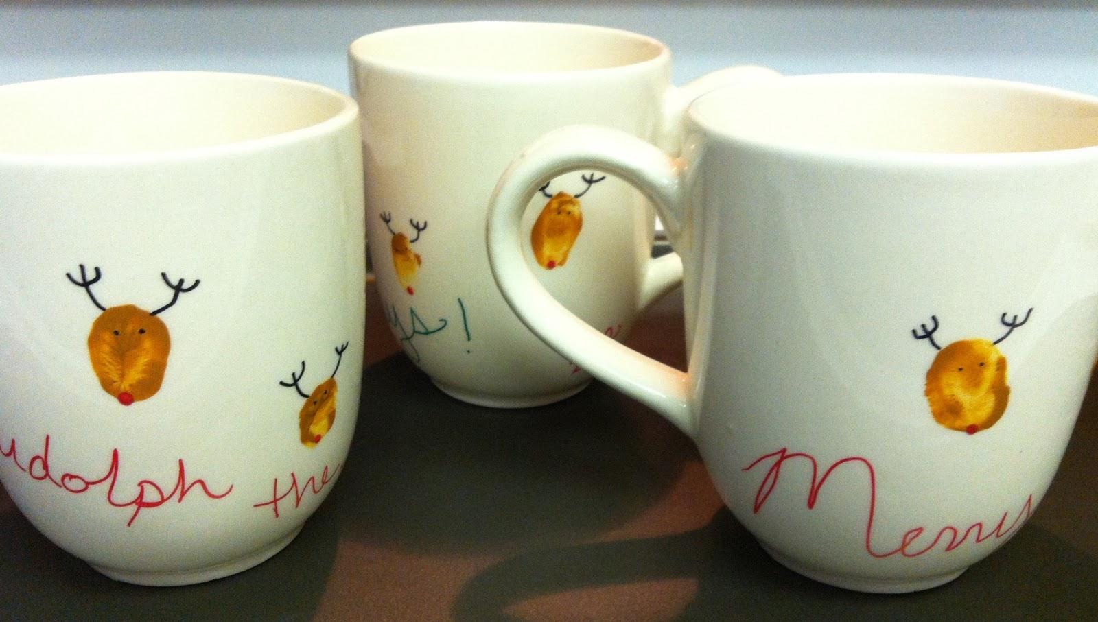 Handmade By Cj Diy Christmas Sharpie Mugs