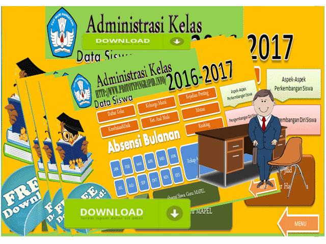 Aplikasi Administrasi Guru Kelas Plus Absensi Siswa Sekolah Kita
